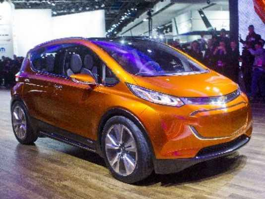 chevrolet bolt electric vehicle production announcement