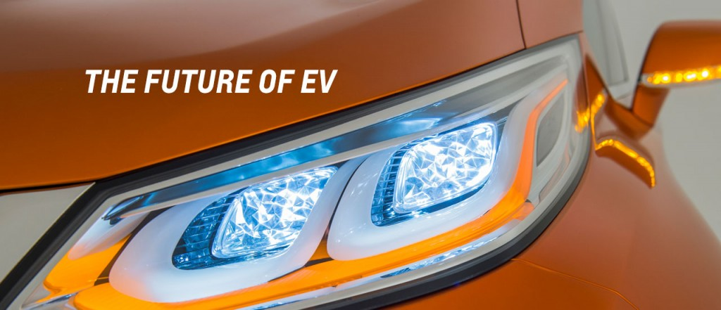 Chevrolet Bolt EV headlight closeup